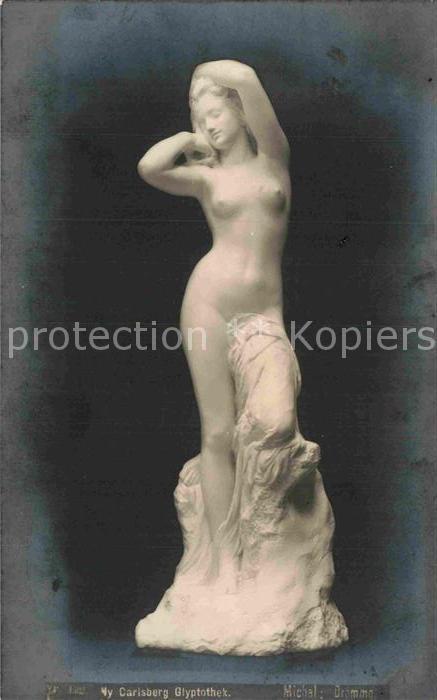 AK / Ansichtskarte Skulpturen Michel Dromme Ny Carlsberg Glyptotek Kat. Skulpturen