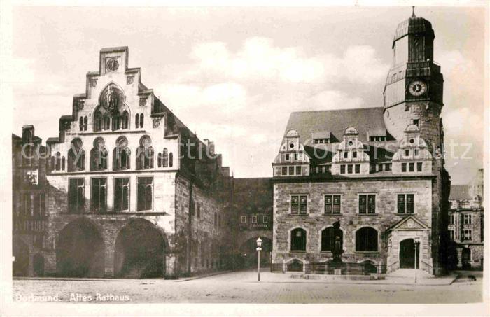 AK / Ansichtskarte Dortmund Altes Rathaus Kat. Dortmund