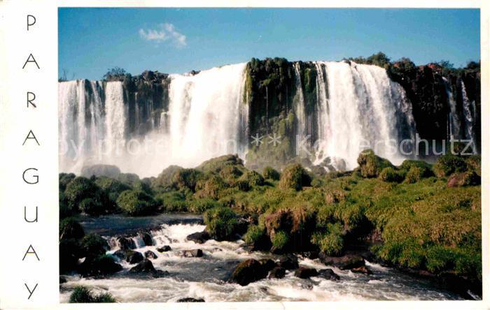 AK / Ansichtskarte Paraguay Cataratas de Yguazu Kat. Paraguay