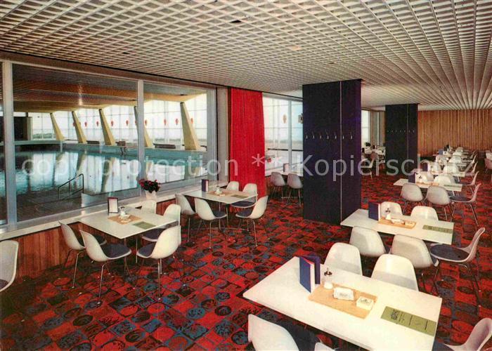 AK / Ansichtskarte Cuxhaven Duhnen Nordseebad Restaurant Meerwasser Brandungs Hallenbad