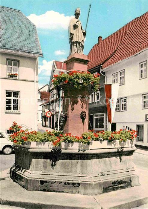 AK / Ansichtskarte Bad Hersfeld Brunnen Kat. Bad Hersfeld