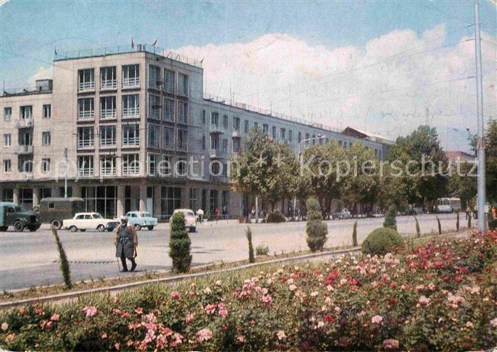 AK / Ansichtskarte Duschanbe Ausstellung  Kat. Tadschikistan