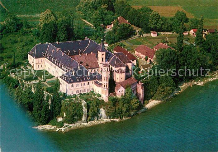 AK / Ansichtskarte Bourget du Lac Savoie Le Fliegeraufnahme Abtei Kat. Le Bourget du Lac
