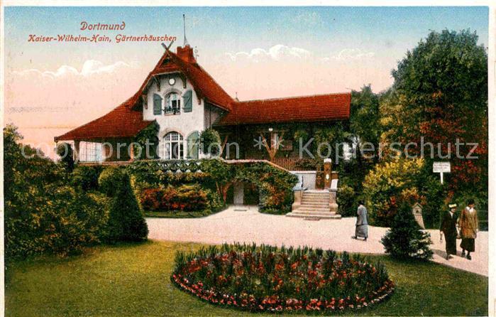 AK / Ansichtskarte Dortmund Kaiser Wilhelm Hain Gaertnerhaeuschen Kat. Dortmund