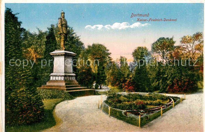 AK / Ansichtskarte Dortmund Kaiser Friedrich Denkmal Kat. Dortmund
