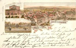 AK / Ansichtskarte Bayreuth Theater Eremitage  Kat. Bayreuth