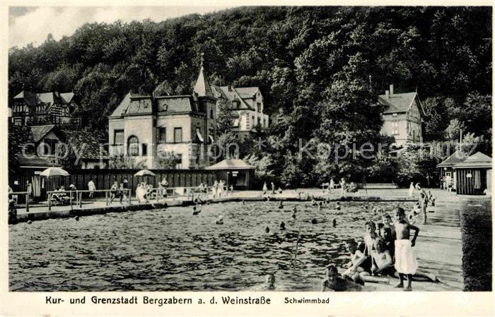 AK / Ansichtskarte Bergzabern Bad Schwimmbad Kat. Bad Bergzabern
