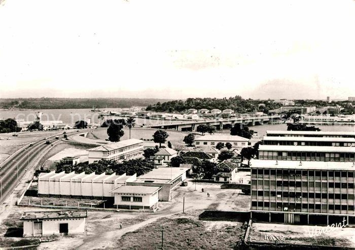 AK / Ansichtskarte Abidjan Teilansicht  Kat. Abidjan