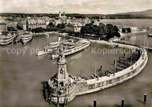 AK / Ansichtskarte Lindau Bodensee Hafen Kat. Lindau (Bodensee)