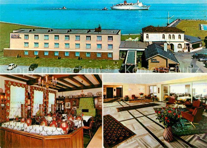 AK / Ansichtskarte Cuxhaven Duhnen Nordseebad Hotel Seepavillon