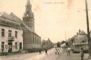 AK / Ansichtskarte Felleries Mairie et Eglise  Kat. Felleries