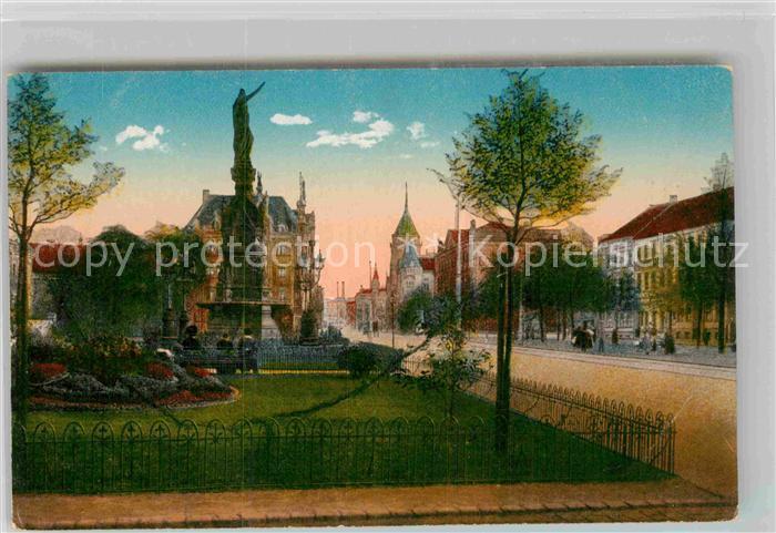 AK / Ansichtskarte Dortmund Hiltropwall und Kriegerdenkmal Kat. Dortmund