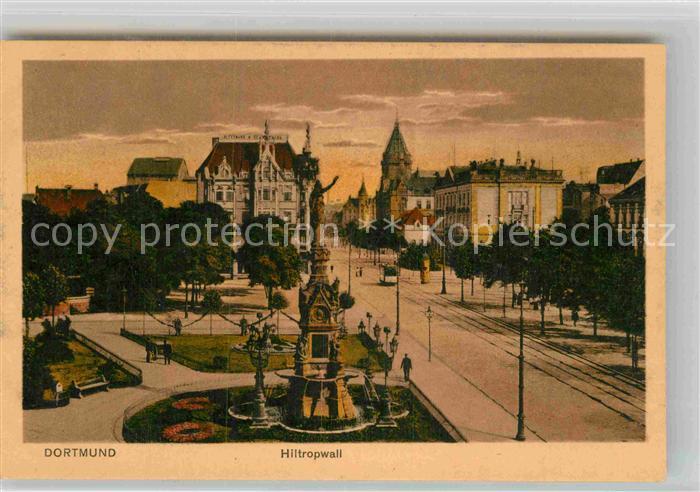 AK / Ansichtskarte Dortmund Hiltropwall Kriegerdenkmal Kat. Dortmund