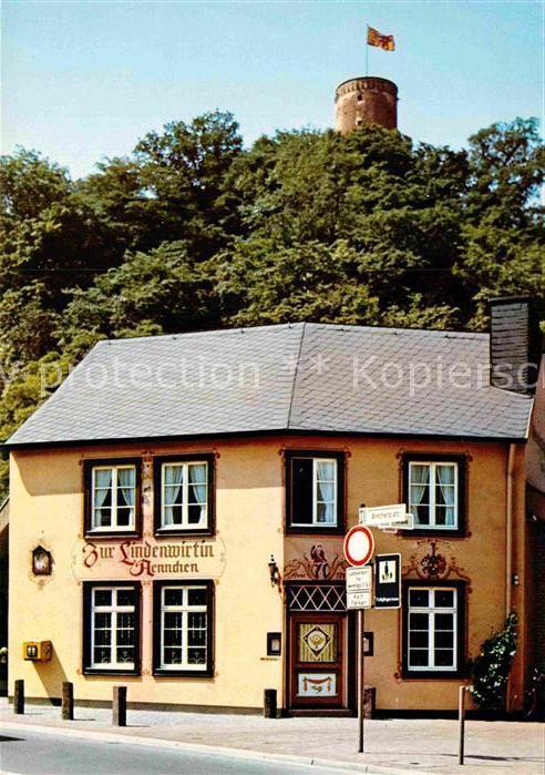 AK / Ansichtskarte Bad Godesberg Gaststaette zur Lindenwirtin Aennchen Godesburg Kat. Bonn