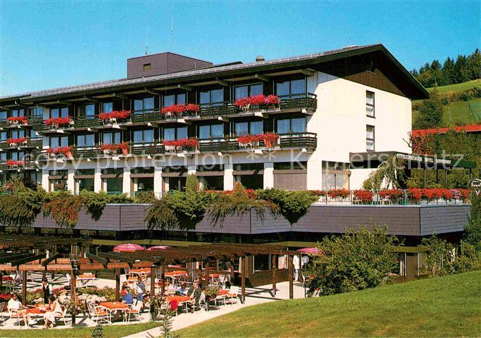 Ak Ansichtskarte Lam Oberpfalz Steigenberger Hotel Sonnenhof
