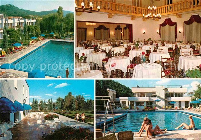 AK / Ansichtskarte Abano Terme Hotel Ermitage Bel Air Swimming Pool Restaurant Kat. Abano Terme