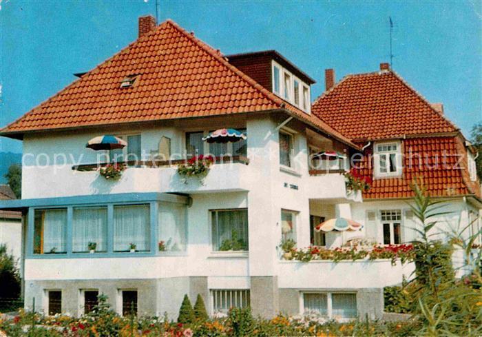 AK / Ansichtskarte Bad Pyrmont Haus Schoenbach Kat. Bad Pyrmont