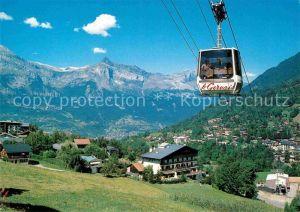 AK / Ansichtskarte Seilbahn Telecabine du Chatelet St. Gervais les Bains  Kat. Bahnen