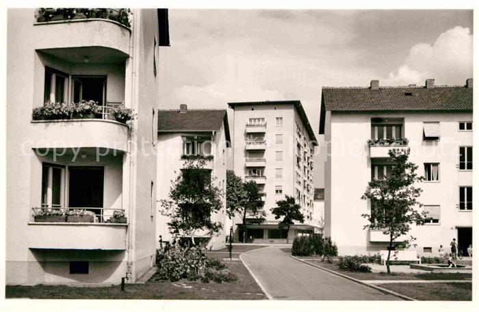 AK / Ansichtskarte Erlangen Siemens Siedlung Hochhaus Kat. Erlangen