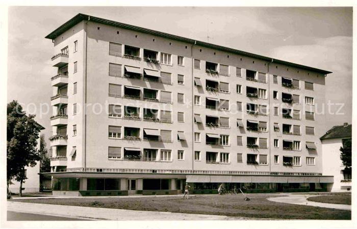 AK / Ansichtskarte Erlangen Hochhaus Siemens Siedlung Kat. Erlangen