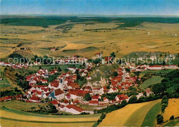AK / Ansichtskarte Hohenfels Oberpfalz Fliegeraufnahme Kat. Hohenfels