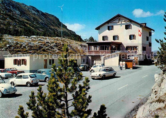 AK / Ansichtskarte Ofenpass Berggasthaus Suesom Give Kat. Zernez