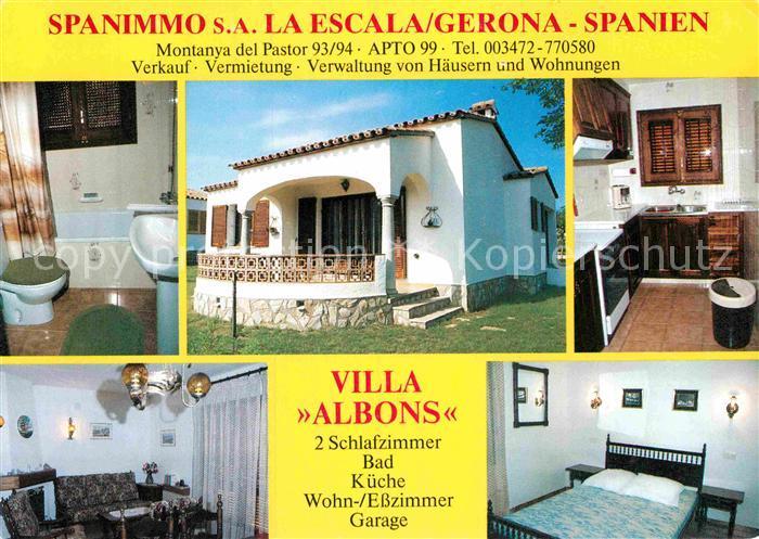 AK / Ansichtskarte Gerona Villa Albons Kat. Costa Brava Spanien