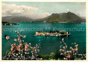 AK / Ansichtskarte Isola Bella Lago Maggiore Panorama