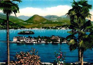 AK / Ansichtskarte Isola Bella Isola Madre e Pallanza Kat. Lago Maggiore