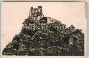AK / Ansichtskarte Traben Trarbach Ruine Grevenburg Kat. Traben Trarbach