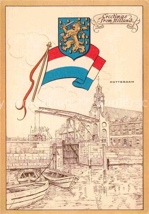 AK / Ansichtskarte Rotterdam Hafenansicht Kat. Rotterdam