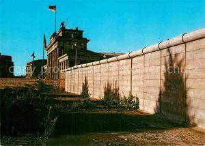 AK / Ansichtskarte Berliner Mauer Berlin Wall Brandenburger Tor Berlin  Kat. Berlin