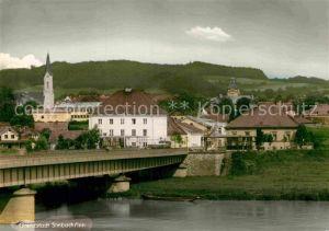 AK / Ansichtskarte Simbach Inn Grenzstadt Kirchturm  Kat. Simbach a.Inn
