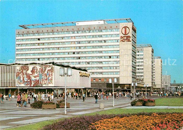 AK / Ansichtskarte Dresden Prager Strasse Inter Hotel  Kat. Dresden Elbe