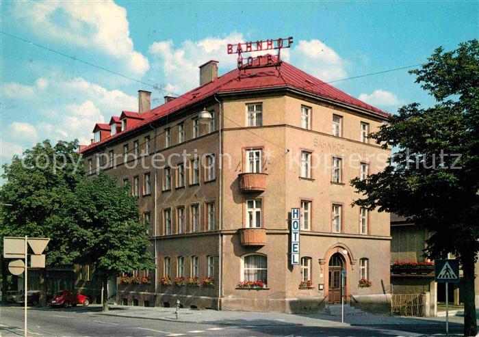 AK / Ansichtskarte Kempten Allgaeu Bahnhof Hotel Kat. Kempten (Allgaeu)