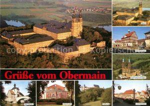 AK / Ansichtskarte Banz Bad Staffelstein Obermain Kloster Bamberg Bayreuth Coburg Lichtenfels Vierzehnheiligen Staffelstein Banz