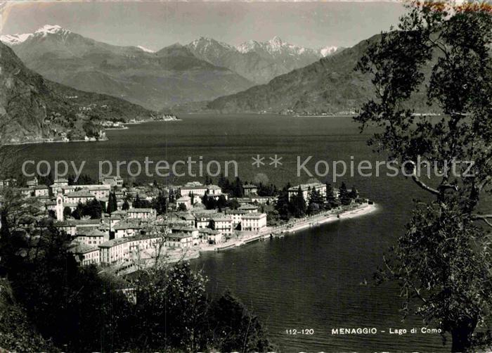 AK / Ansichtskarte Menaggio Lago di Como  Kat.