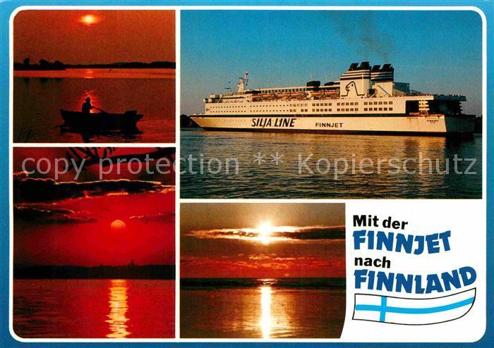 AK / Ansichtskarte Schiffe Ships Navires Finnjet Silja Line