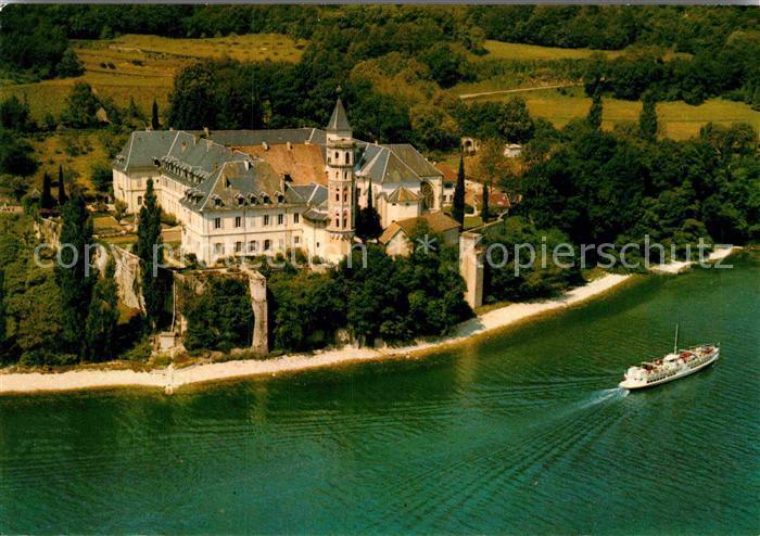 AK / Ansichtskarte Bourget du Lac Savoie Le Fliegeraufnahme Abbaye de hautecombe Kat. Le Bourget du Lac