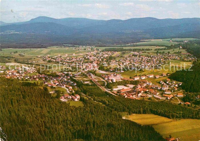 AK / Ansichtskarte Frauenau Erholungsort am Nationalpark Bayerischer Wald Fliegeraufnahme Kat. Frauenau 0