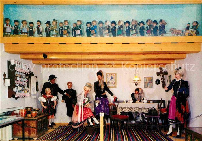 AK / Ansichtskarte Furth Wald Museum des Heimatkreises Bischofteinitz Bauernstube mit Hochzeitszug Kat. Furth im Wald