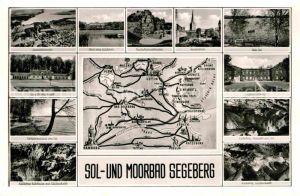 AK / Ansichtskarte Bad Segeberg Badeanstalt Jugendherberge Kalkberg  Kat. Bad Segeberg