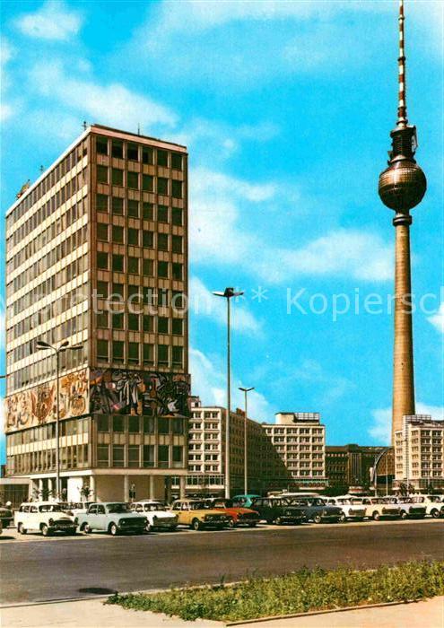 AK / Ansichtskarte Berlin Haus des Lehrers am Alexanderplatz Kat. Berlin