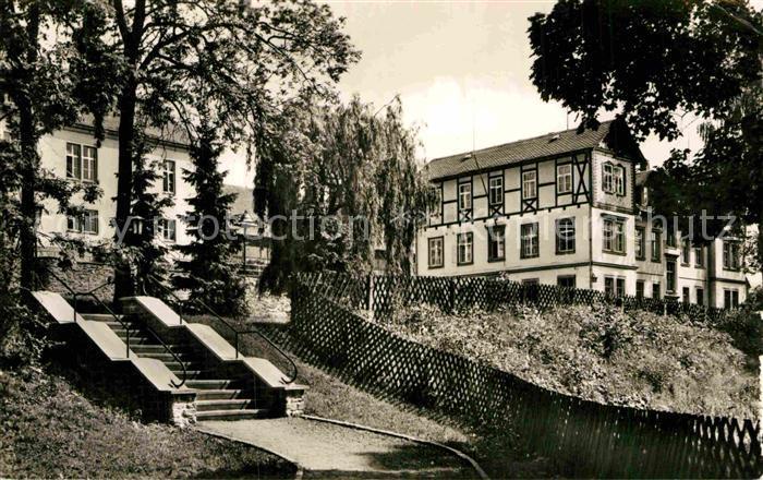 AK / Ansichtskarte Warmbad Wolkenstein Wismut Sanatorium Kinderheim Landhaus  Kat. Wolkenstein