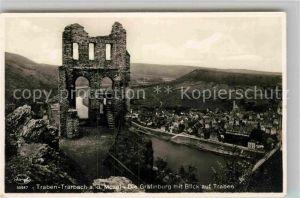AK / Ansichtskarte Traben Trarbach Ruine Graefinburg Traben Kat. Traben Trarbach