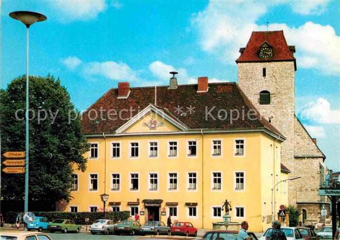 AK / Ansichtskarte Schoeningen Rathaus Kat. Schoeningen