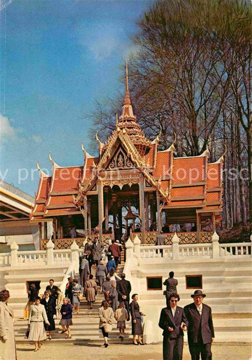 AK / Ansichtskarte Bruxelles Bruessel Exposition Universelle 1958 Thailand Pavillon Kat.
