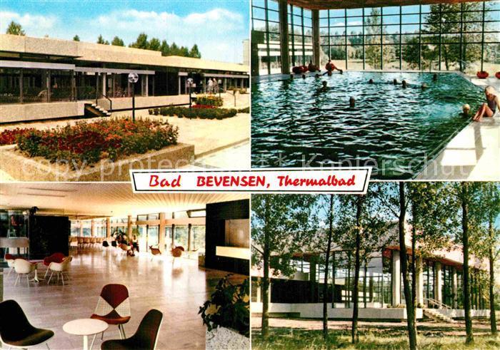 AK / Ansichtskarte Bad Bevensen Thermalbad Kurpark Kat. Bad Bevensen