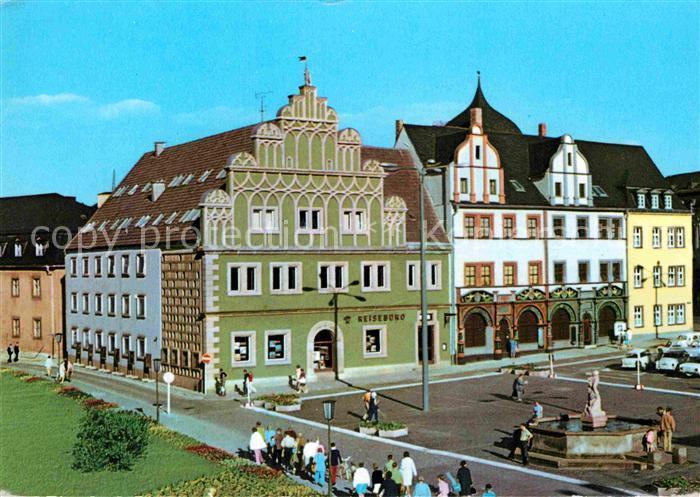 AK / Ansichtskarte Weimar Thueringen Stadthaus und Lucas Cranach Haus Kat. Weimar