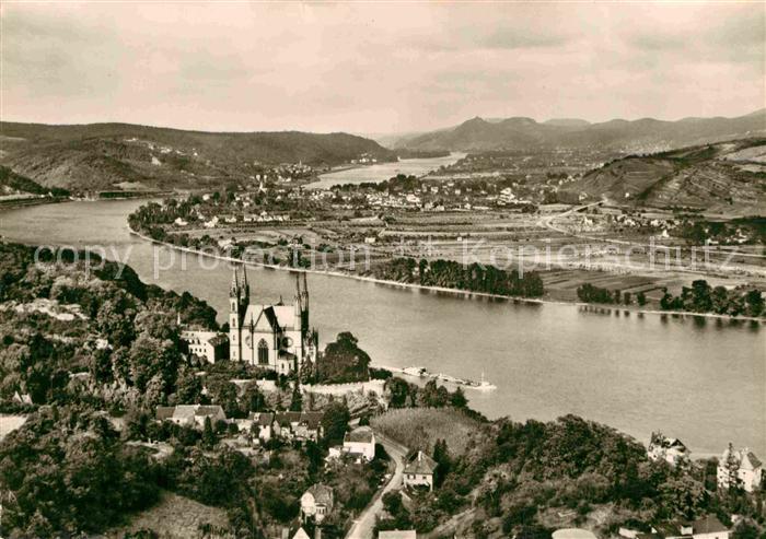 AK / Ansichtskarte Remagen Panorama Blick ueber den Rhein Siebengebirge Apollinariskirche Kat. Remagen